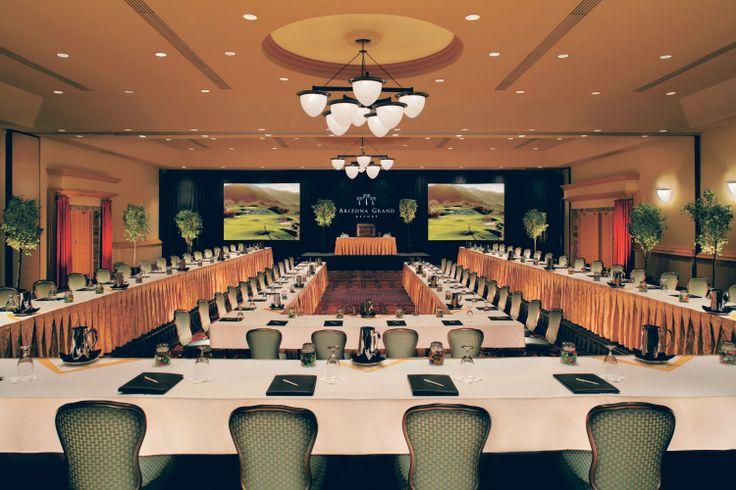Chevron Meeting Room Setup