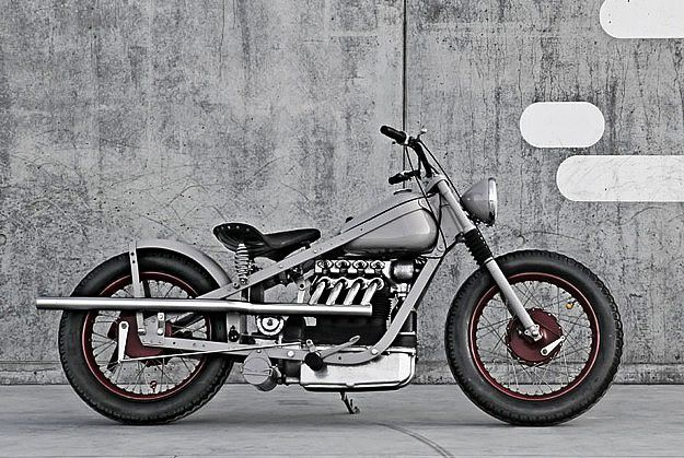 1952 Nimbus Type C bobber. This ain't no rocket, but I love the look and how it's so simple.