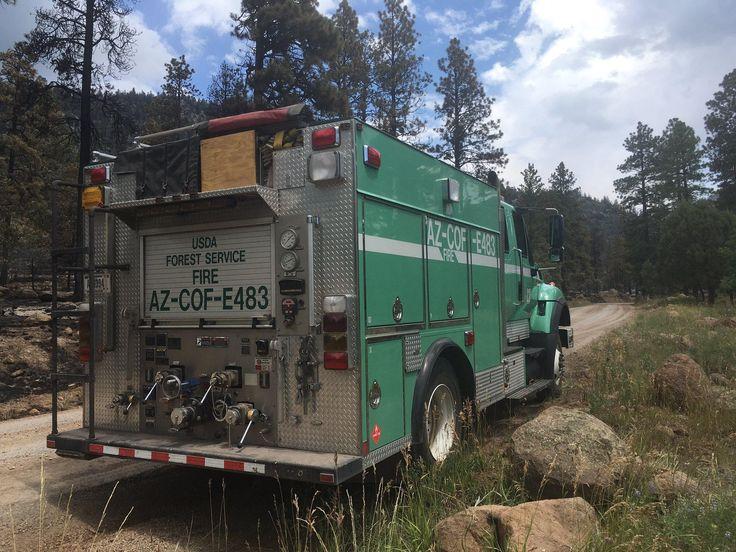 Firefighters Make Progress On Museum Fire As Flagstaff
