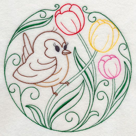 Machine Embroidery Designs at Embroidery Library! - Color Change - X10635