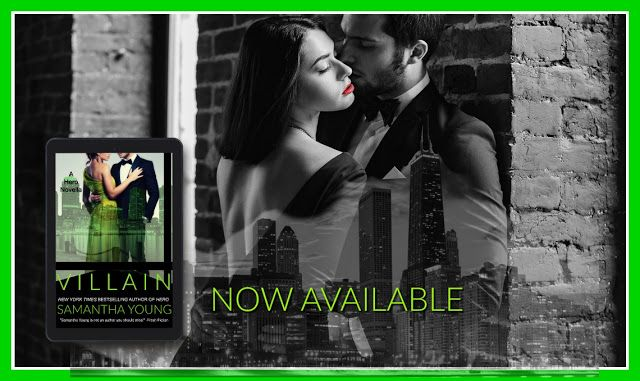 Calling All Bookaholics: Release Day Launch - Villain By Samantha Young