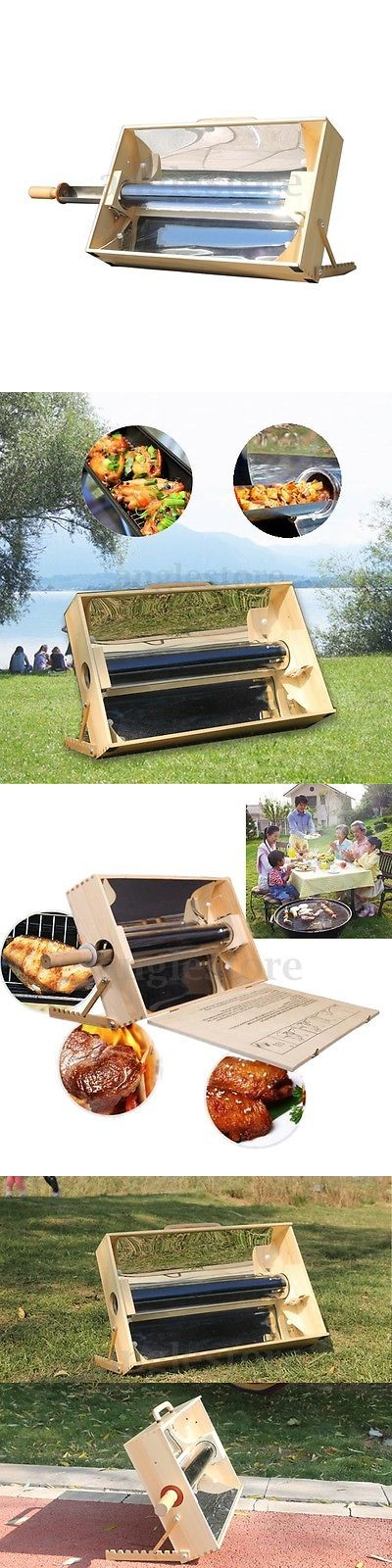 Camping Ovens 181387: Solar Stove Portable Vacuum Glass Tube Oven Outdoor Bbq Grill Camping Sun Cooker -> BUY IT NOW ONLY: $169.59 on eBay!