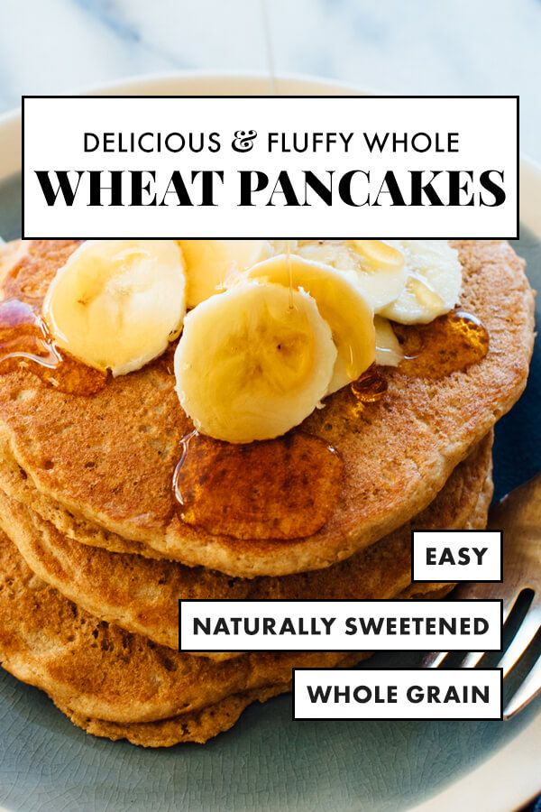 Whole Wheat Pancakes Recipe Cookie And Kate Recipe Whole Wheat Pancakes Wheat Pancakes Recipes