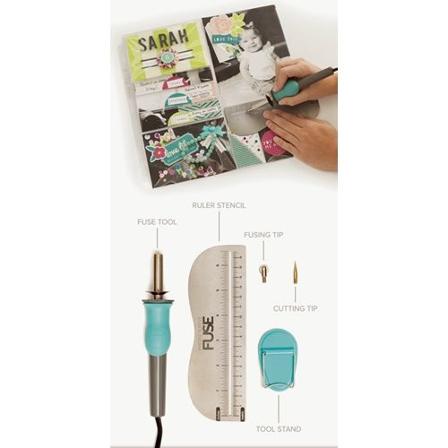 New Fuse Machine by We R Memory Keepers is available for preorder now at Simon Says Stamp!