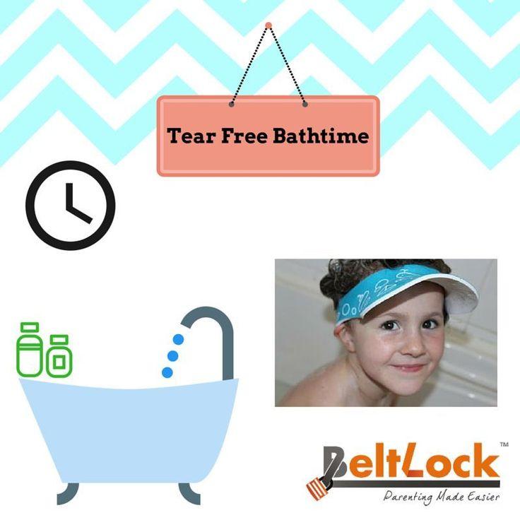 Stop Suds getting into Child's Eye with Shampoo Eye Shield https://www.beltlock.ie/shampoo-eye-shield/