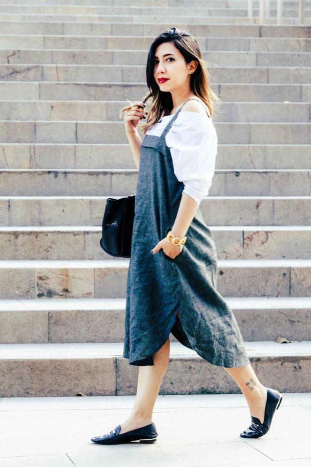 De la moda y otros demonios.: El vestidito pinafore y otras tendencias PV17