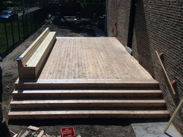 how to build a deck instructables