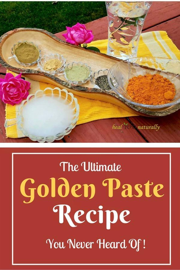 This Ancient Golden Paste Will Reduce Chronic Inflammation Immediately Healyounaturally Recipe Golden Paste Recipe Paste Recipe Golden Paste
