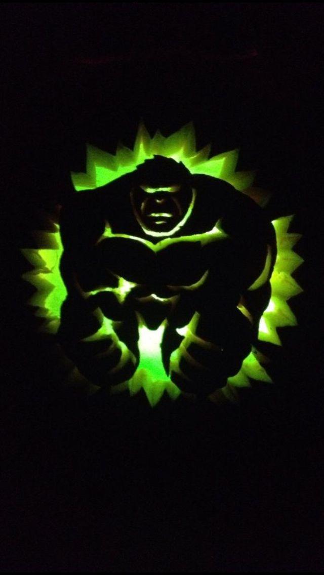 The gallery for gt hulk pumpkin stencil