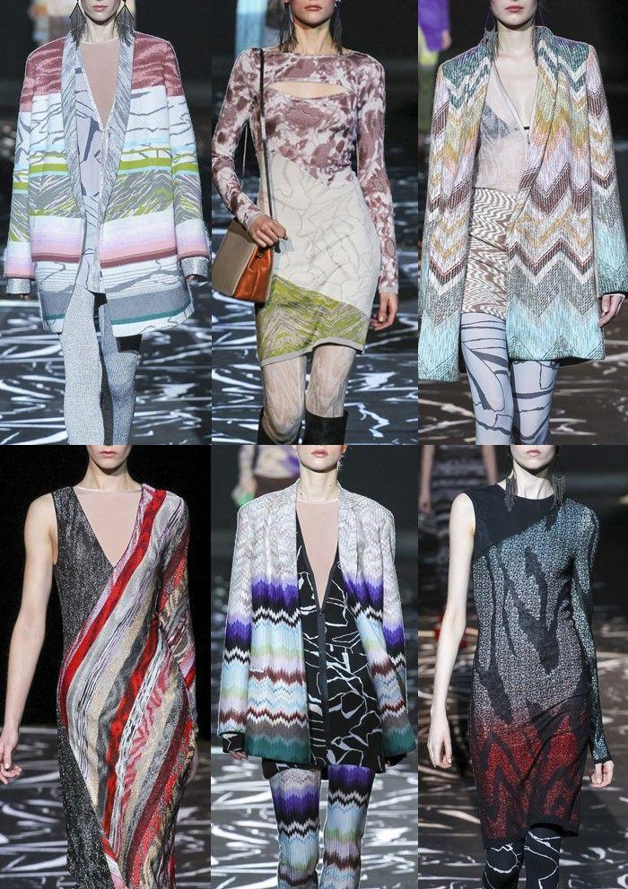 Milan Fashion Week Womenswear Print Highlights Part 2 – Autumn/Winter 2015/16 | Patternbank