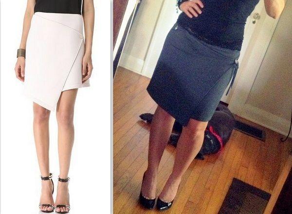 WobiSobi: DIY Wrap Skirt from a T-shirt.