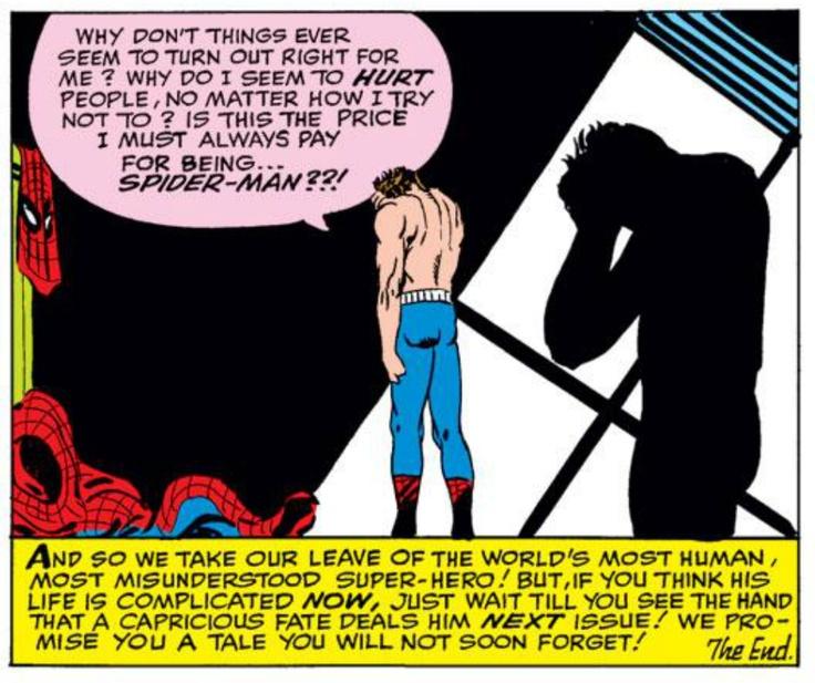 Steve Ditko, Amazing Spider-Man #17