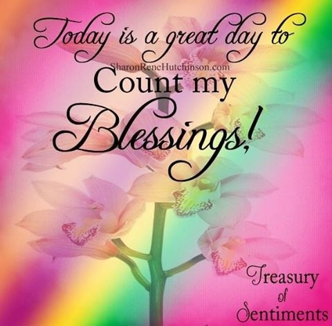 Count your blessings one by one