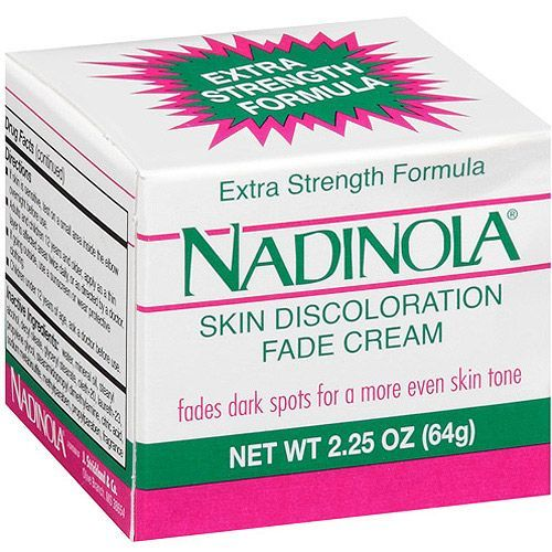 Nadinola   Fade Cream: rated 4.0 out of 5 on MakeupAlley.  See 75 member reviews, product ingredients and photo.