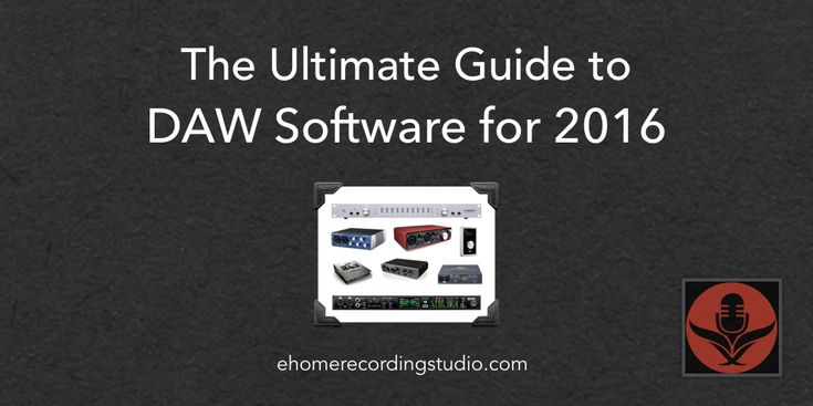 Looking for a good music recording/editing software for your new home studio? In this post I reveal the 10 most popular free/paid DAWs as of 2016.