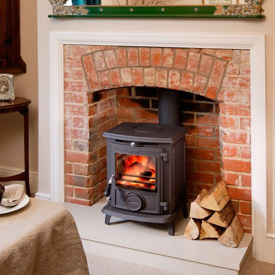 Wood Stove Fire Bricks 4 9 : Best wood burning stoves uk ideas on pinterest