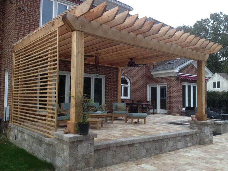 Sail shades for decks pergolas shade sails solid structures decks and fences outdoors - Shade ideas for a deck ...