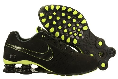 Womens Nike Shox Deliver Running Shoes Black / Black / Anthracite / Volt 317549-006