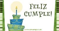 Imagenes de cumpleaños para Facebook, Twitter, Google+, Saluda gratis a traves de todas las redes sociales en Correomagico.com