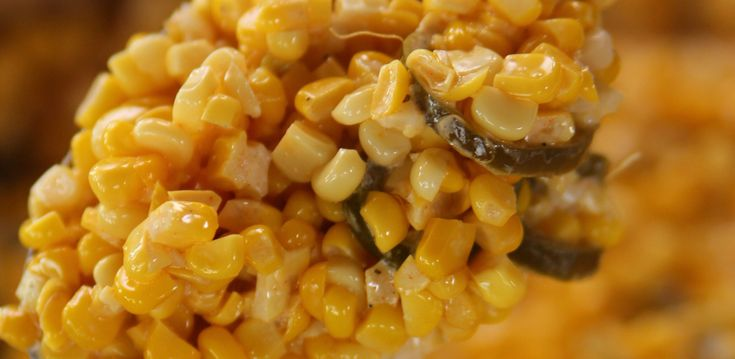 Slow Cooked Jalapeno Corn By Ree Drummond