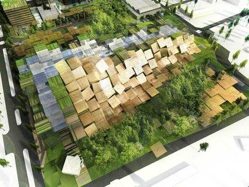 Dominique Perrault Architecture — Centro Direzionale Exploration and Production di ENI. San Donato Milanese