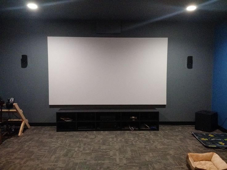 A Simple, Affordable, And Quality, 140u2033 Project Screen Fіndіng Woodworking  Projects And. Projector ScreensWoodworking ProjectsDiy ...
