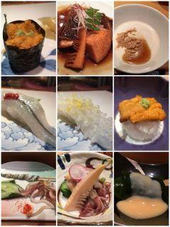 寿司割烹やまちょうの飲み放題付き1万円コースです 時間は無制限なのでゆっくりと沢山のお酒が飲めてお得ですよねっ 寿司ネタは日によって変わるそうですよ 刺身の盛り合わせと味噌汁も付きます( ω ) tags[福岡県]