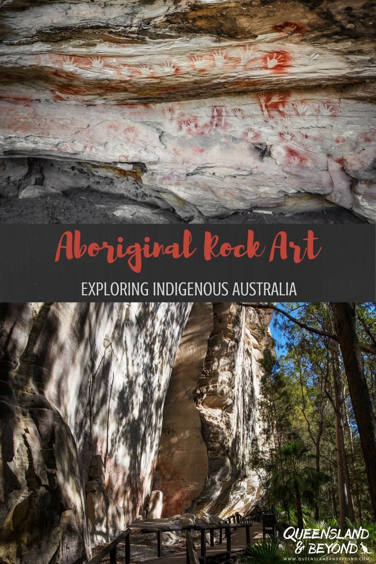 Carnarvon Gorge in Queensland's Outback has some of the finest examples of Aboriginal rock art in Australia. Find out where to find it | 🌐 Queensland & Beyond.