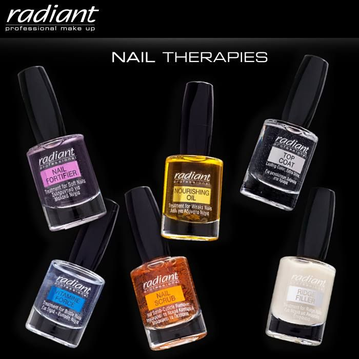 Nails Treatment | Radiant Professional Make Up Ολοκληρωμένη περιποίηση νυχιών από τη σειρά Nail Therapies #Radiant #Professional #nails #treatment
