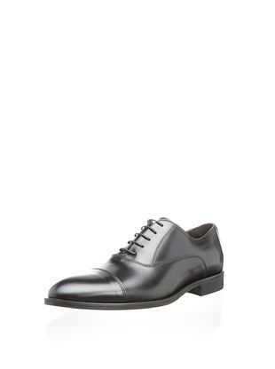 63% OFF testoni BASIC Men's Lord Dress Oxford (Nero Tivo)