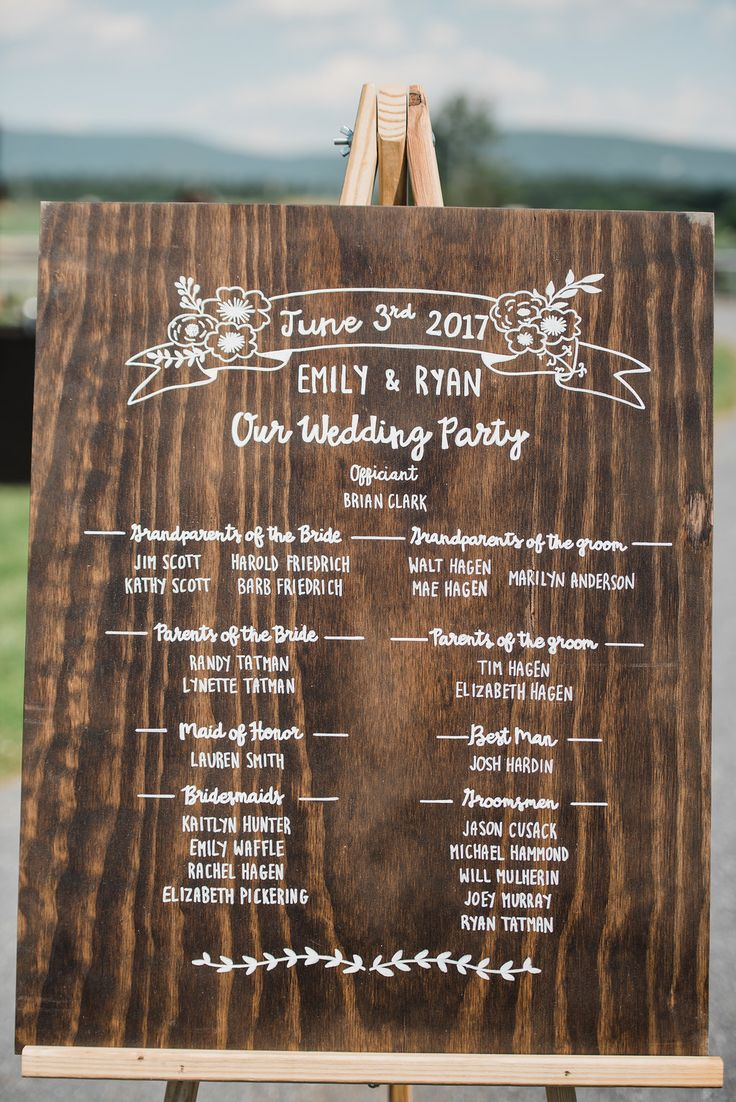 Best Wedding Program Sign Ideas On Pinterest Wedding Program