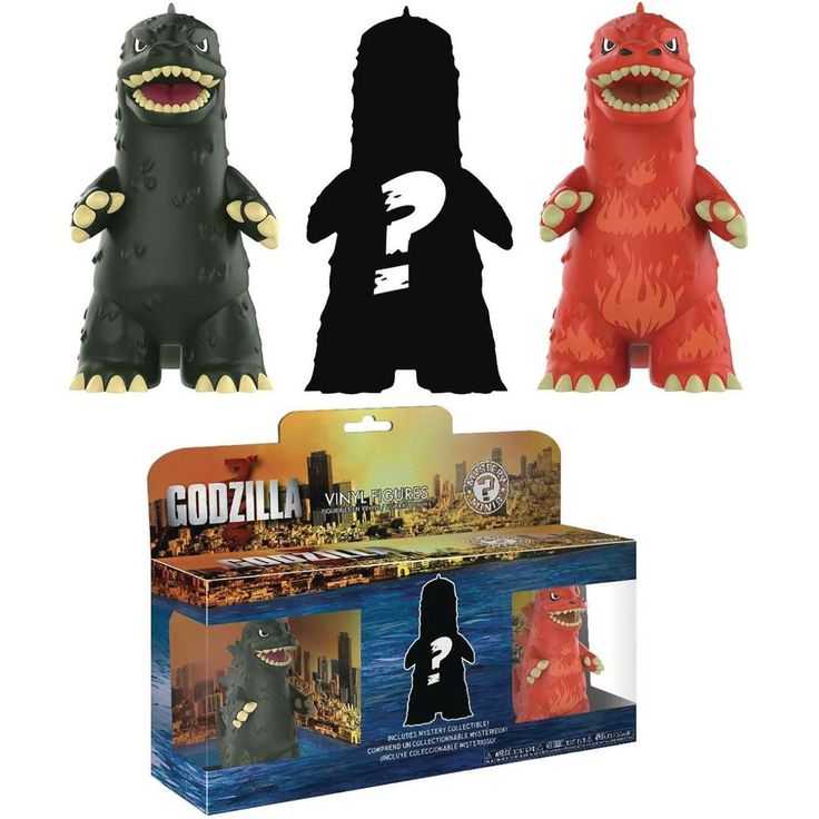 Funko Mystery Minis Godzilla Vinyl Figure 3Pack in 2020