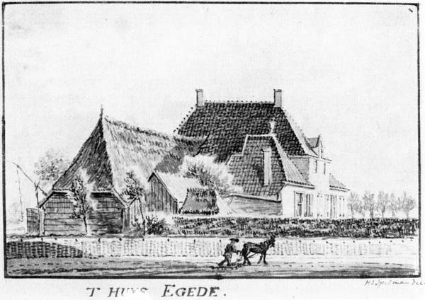 Historie op den Dries: Egede: Egede is een havezate geweest. Het werd voor het eerst in 1382 genoemd. Op de plek van het huis is nu een boerenerf. Er staat nu alleen nog een restant van de havezate. De toegangspoorten staan nu bij een herenhuis in Enschede.