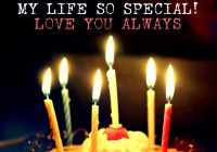 Bithday Cake With Quotes For Lover