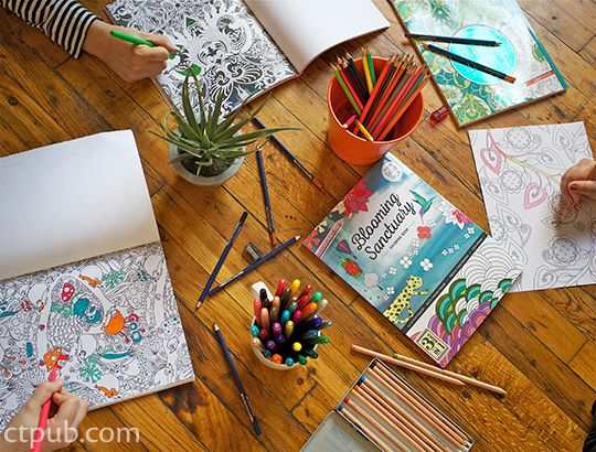 Luxury Publishing A Coloring Book 31 Host a Coloring Party