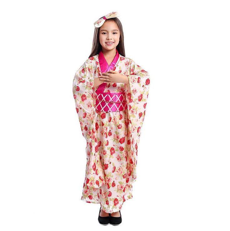 Girls geisha asian costume clearance — photo 7
