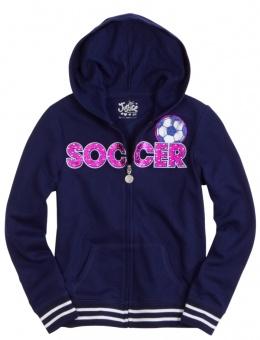 Navy Blue Soccer Jacket