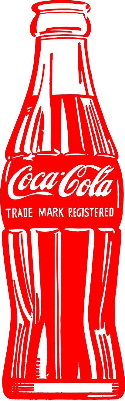 LARGE Coca Cola Vinyl Decal Wall Sticker Wall Tattoo by Tibi291, $20.00