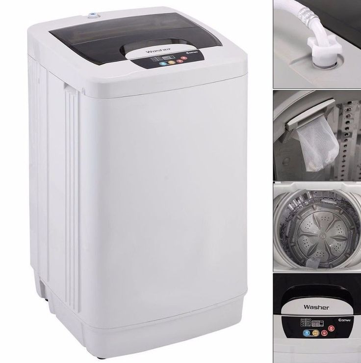 Washing Machine Cleaner Drain Filter For Apartment Dorms Washer Combo Portable  #WashingMachineCleaner