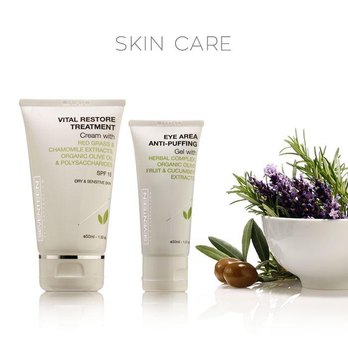 Skin Care Collection | Seventeen Cosmetics #Seventeen #Cosmetics #restore #treatment #eye #depuffing #cream
