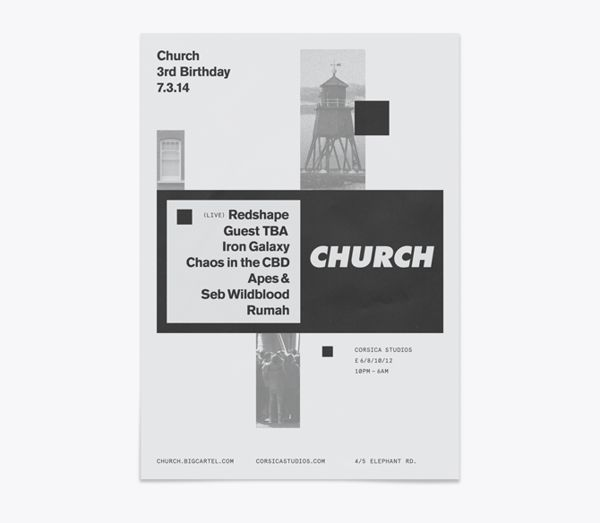 Church - Techno Label on Behance