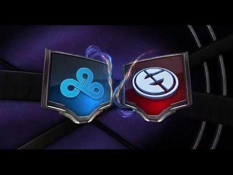 CLOUD 9 vs  EVIL GENiUSES Week 6 Day 2 NA LCS Summer Split 2014   C9 vs ...