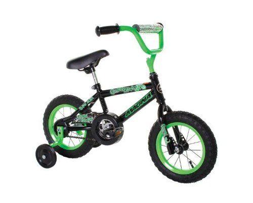 Dynacraft Magna Gravel Blaster Boy's Bike (12-Inch, Green/Black)