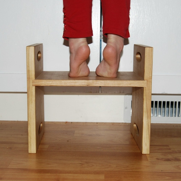 Toddler Step Stool With Handles Woodworking Projects Amp Plans