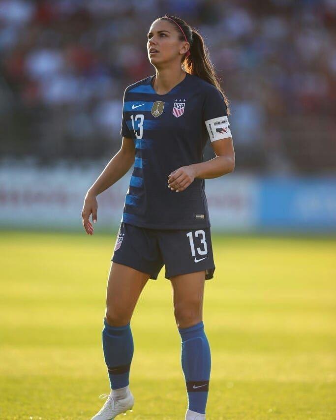 Alex Morgan 13 Uswnt Usa Soccer Women Soccer Girl Women S Soccer