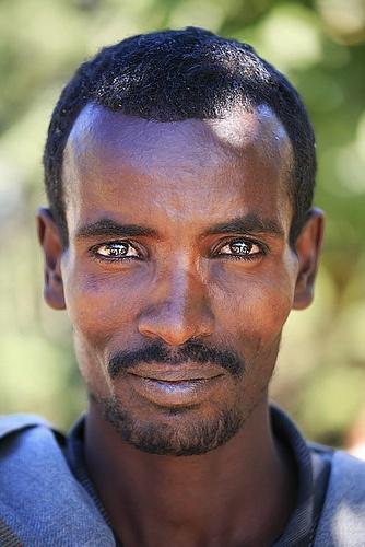 Ethiopian man - Photo by Maksid, via Flickr