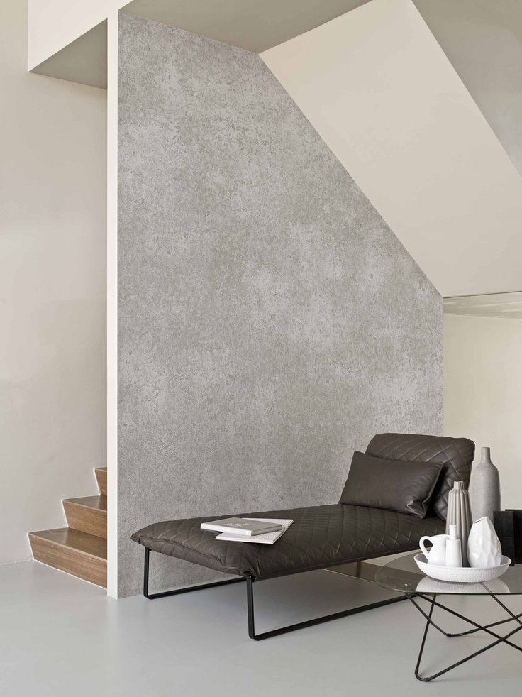 Concrete, weathered by the rain. Wood, grey with age. A newspaper, years later looking like parchment. When Time and the Elements join forces, they give true character to all kinds of materials. And that character, so timeless yet so up-to-date, is reflected in our new collection.Wallcovering from BN, Elements, Goodrich