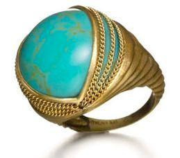 Anthony Nak turquoise ring