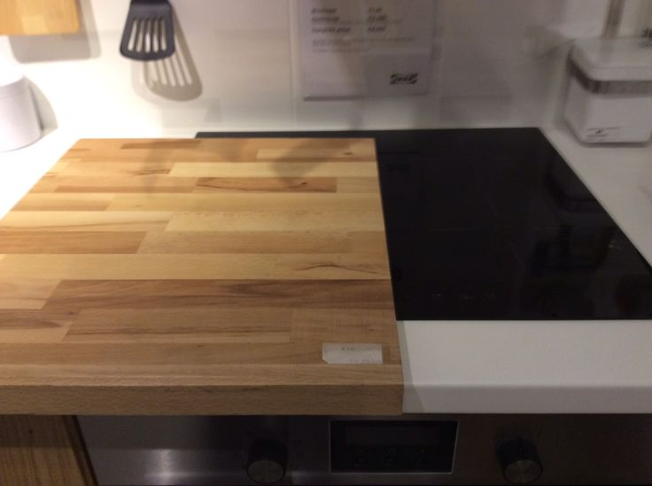 Chopping Board To Cover Induction Hob When Not In Use