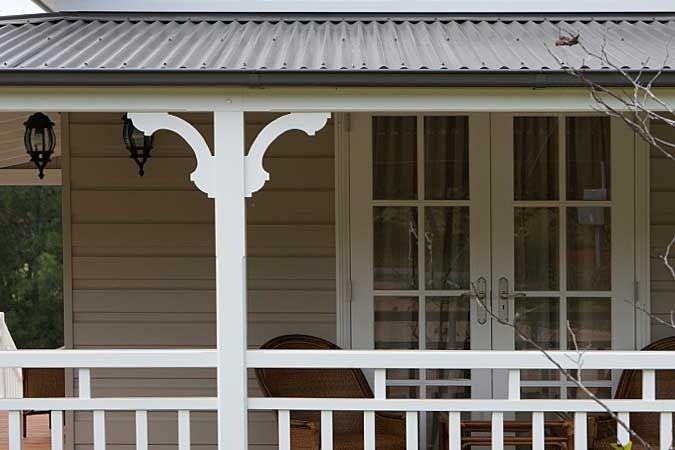 Strongbuild verandahs posts brackets decorative verandah bracket 1 exterior - Veranda decoratie ...